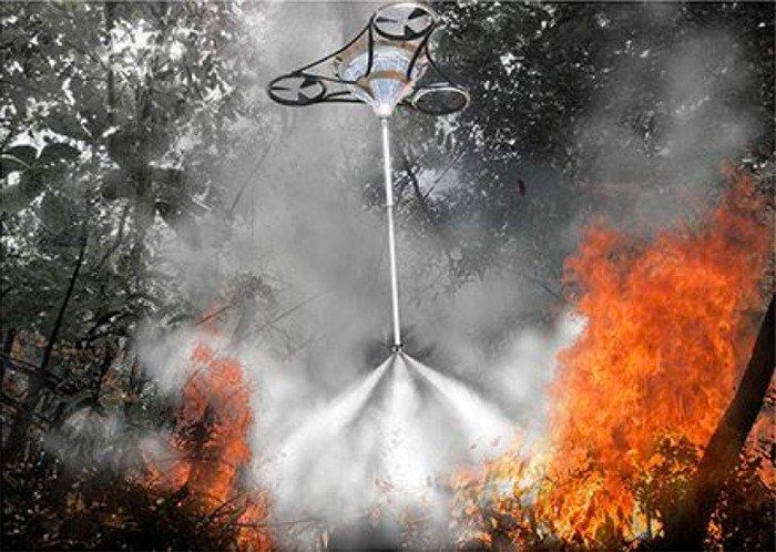 Using Drones to Eliminate Future Forest Fires