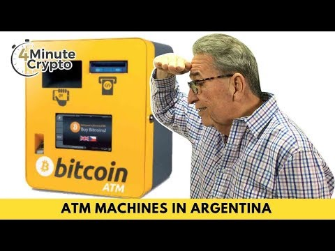 1,500 Bitcoin ATMs Are Going Into Argentina