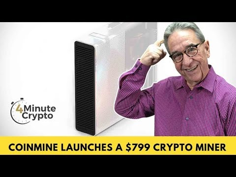 Coinmine Launches A $799 Crypto Miner