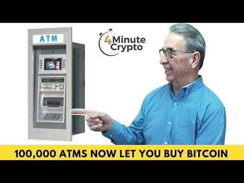 Over 100,000 ATMs In The US Now Let You Buy Bitcoin