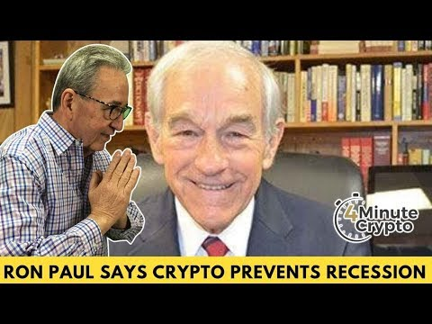 Ron Paul Says Crypto Could Prevent Recession