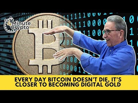Every Day Bitcoin Doesn't Die, It's Closer to Becoming Digital Gold