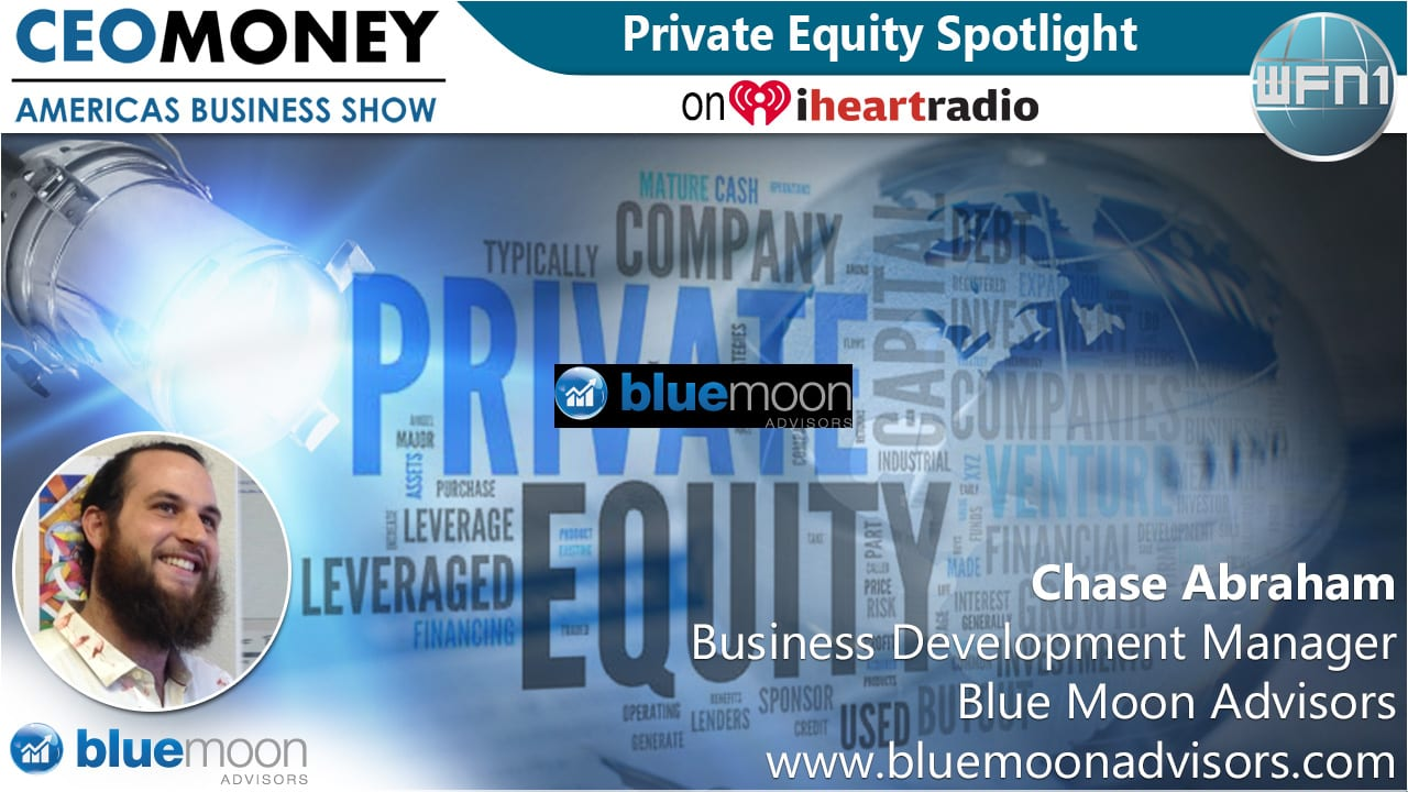 Chase Abraham from Blue Moon Advisors on CEO Money