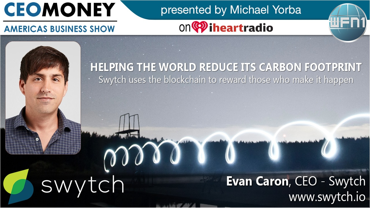 Evan Caron from Swytch on CEO Money