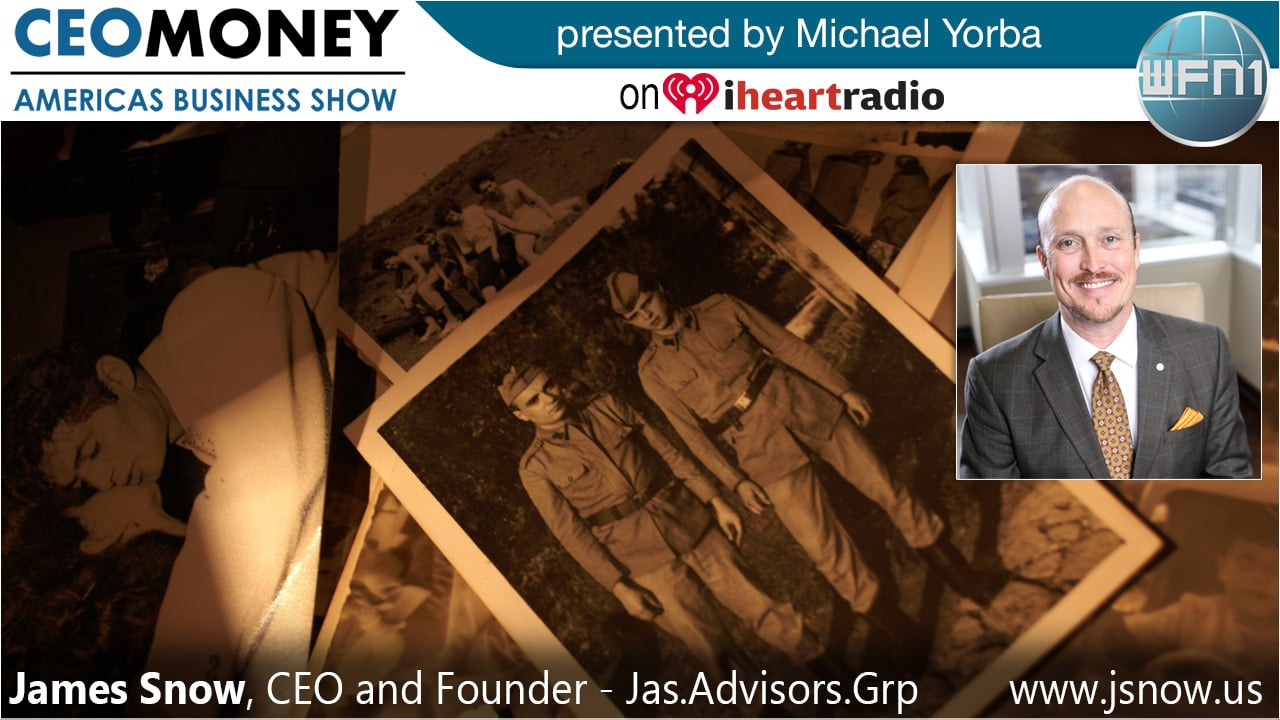 James Snow from Jas.Advisors.Grp on CEO Money