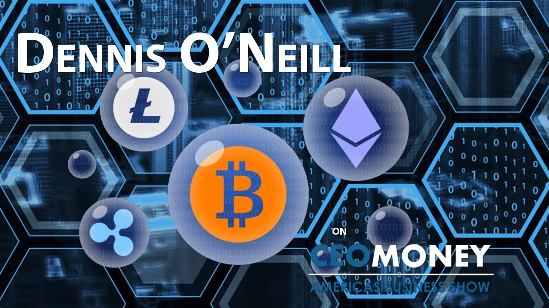 Dennis O'Neill talks about Coinagenda and building relationships with blockchain thought leaders
