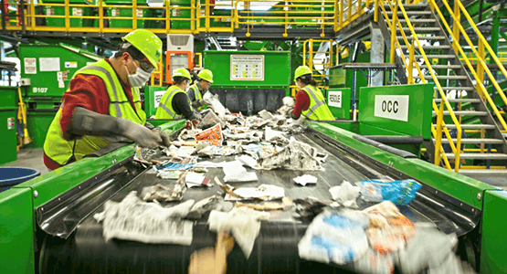Weekly recycling updates