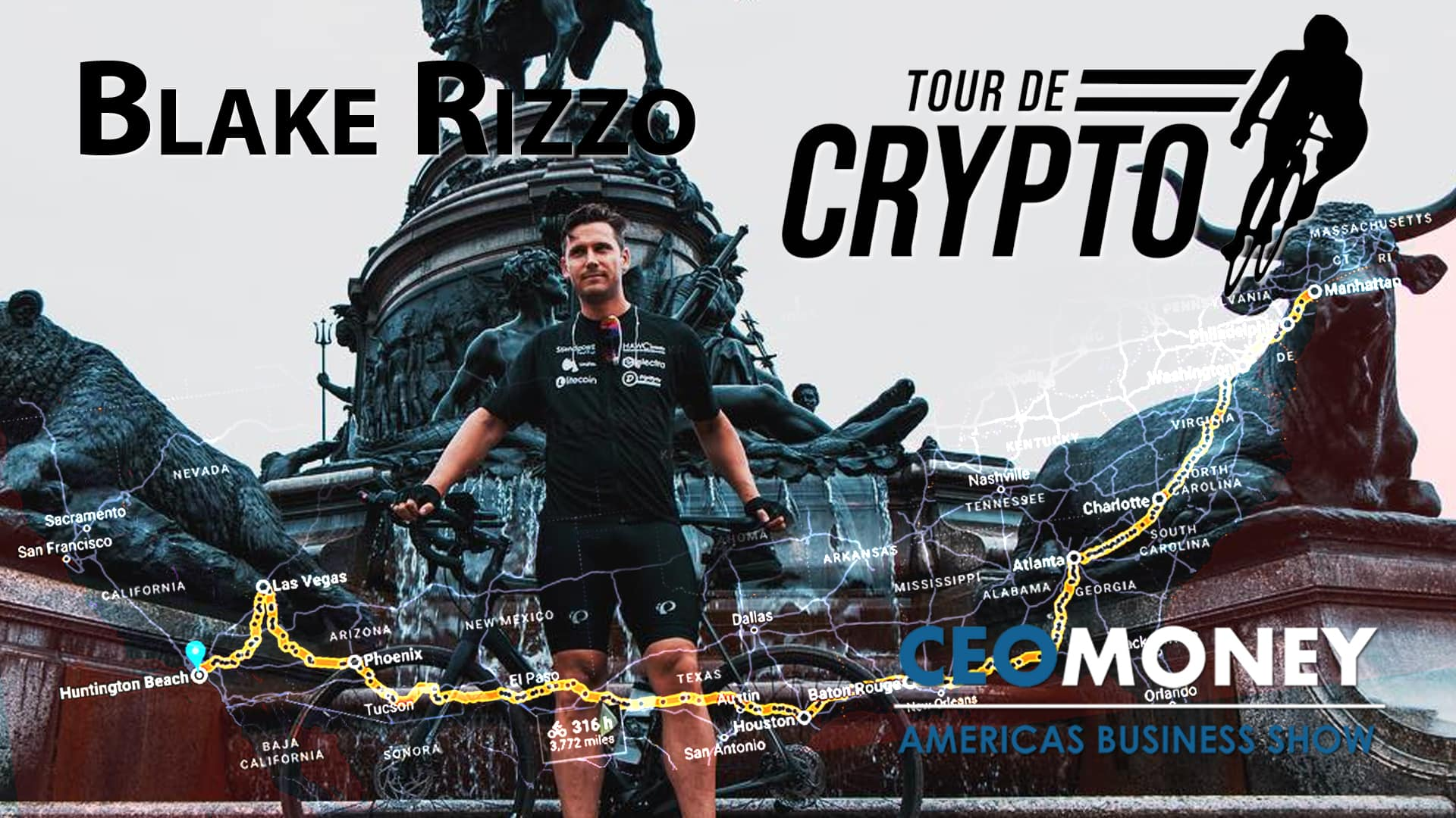 Blake Rizzo on how the Tour de Crypto is helping educate America and support a cause