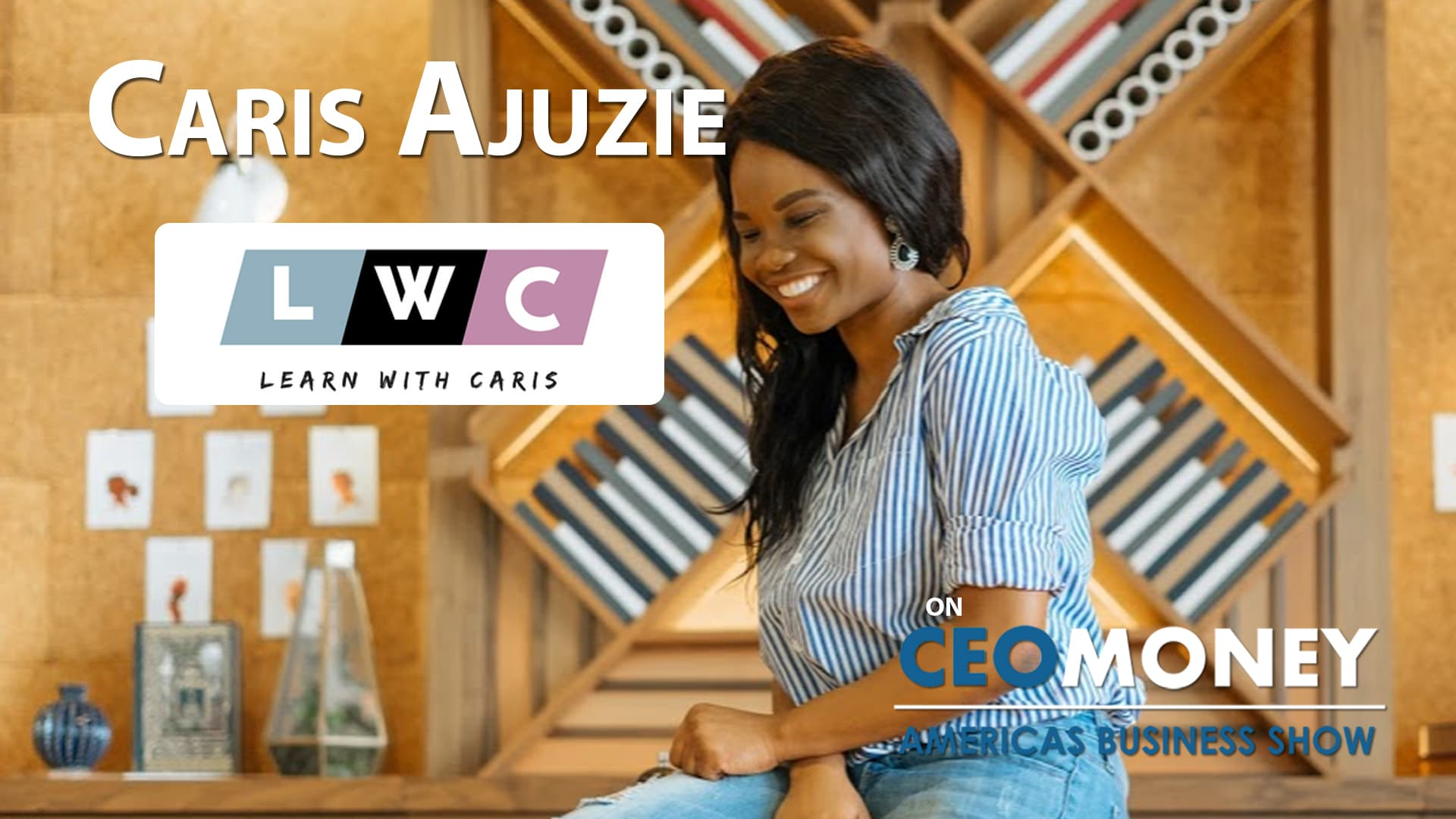Caris Ajuzie created a 'Fasionpreneur' community to support designers as they build their brands