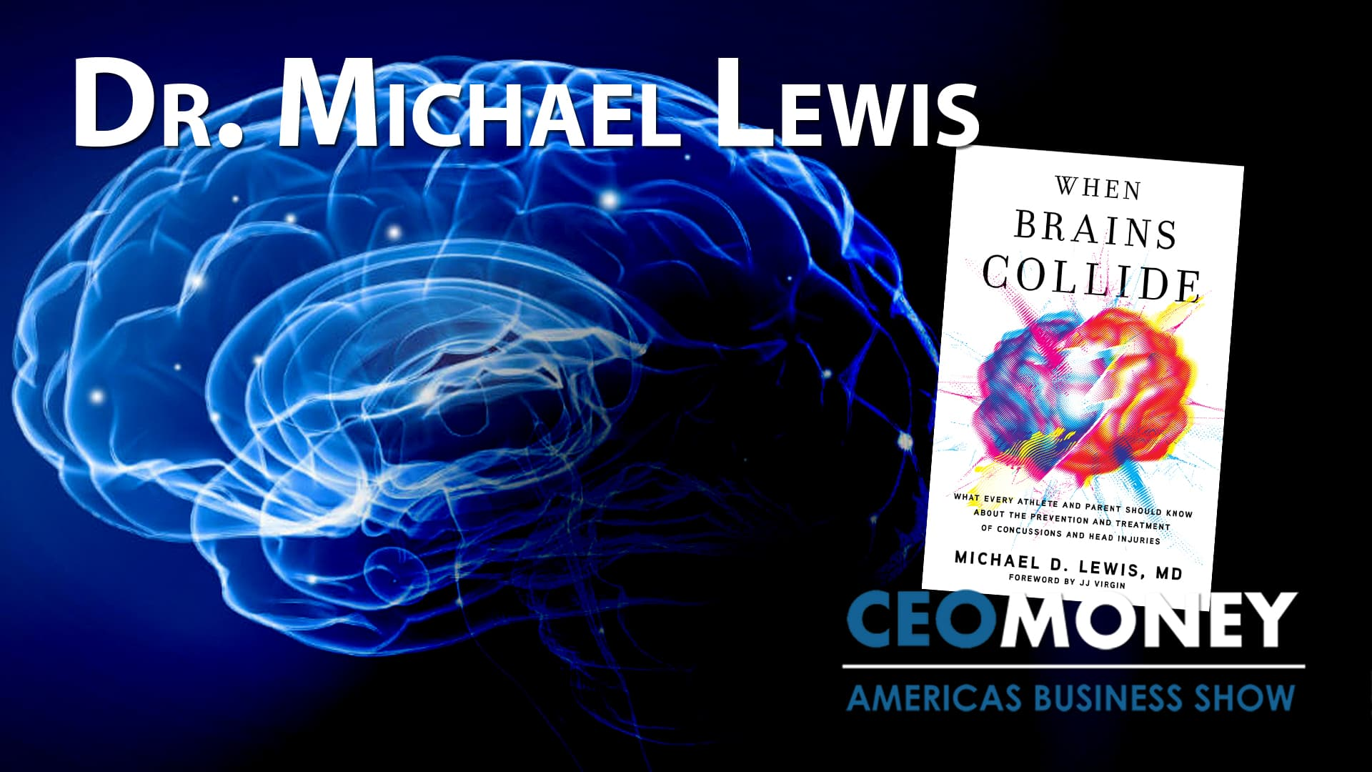Dr Michael Lewis on how brain trauma and concussion can be helped by omega-3 fish oil and CBD oil