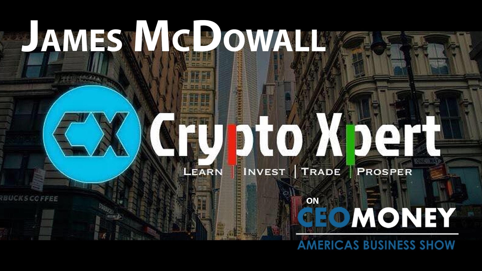 James McDowall is an expert at linking the worlds of blockchain and finance