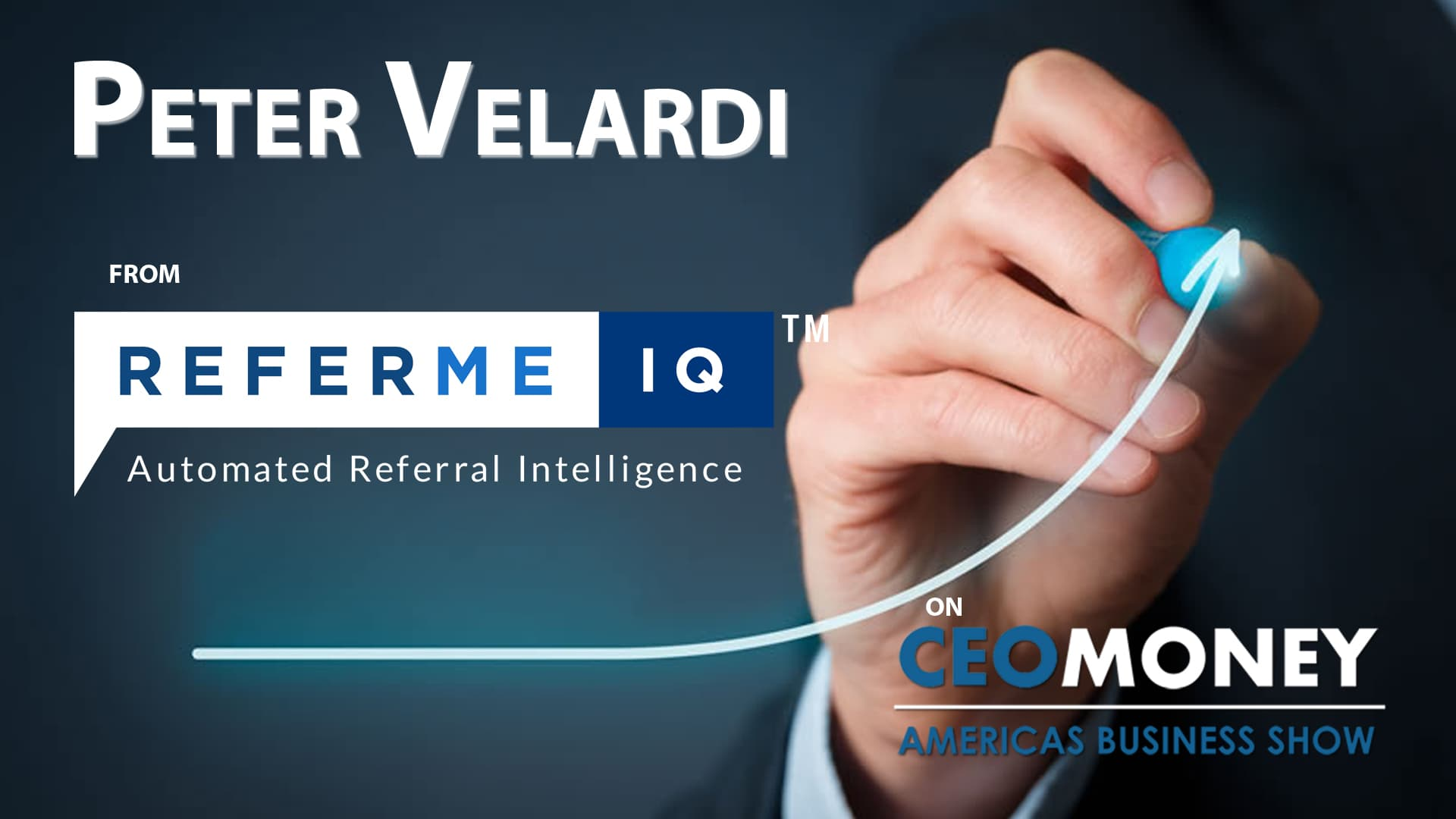 Peter Velardi on the strengths of ReferMe IQ's turnkey referral marketing system