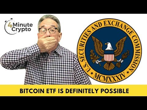The SEC Commissioner Confirms Bitcoin ETF Is Definitely Possible.