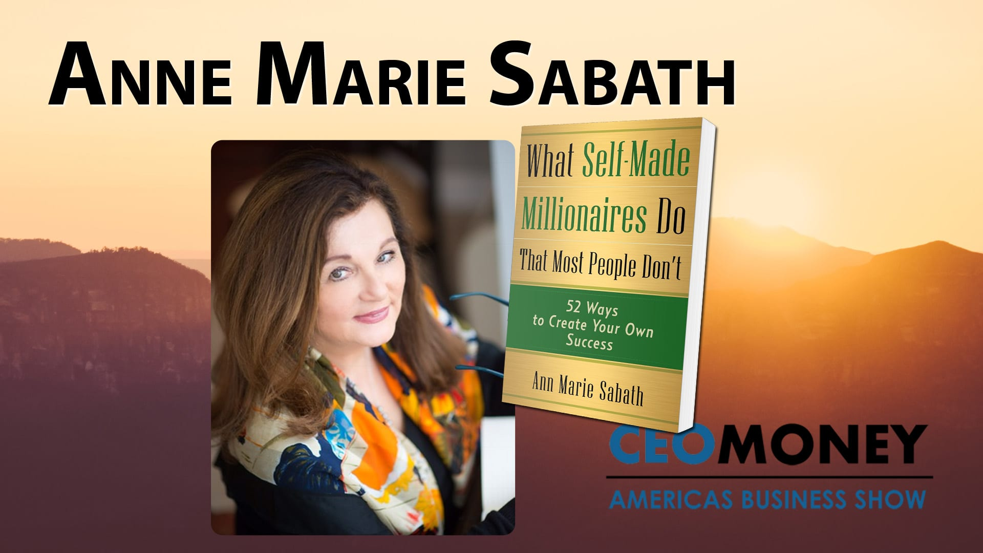 Ann Marie Sabath's book teaches how people can make themselves millionares