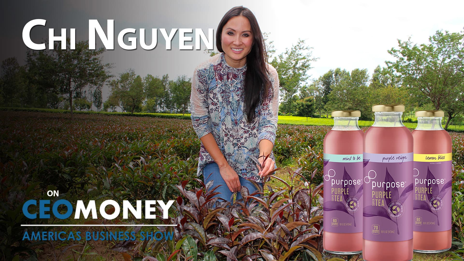 Chi Nguyen created a unique beverage company combining love of tea and passion for improving lives