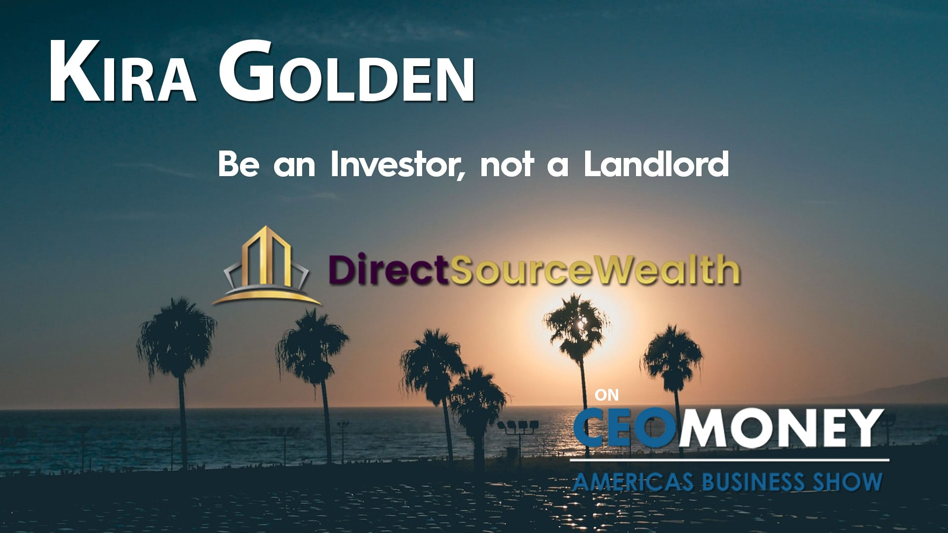 Kira Golden from Direct Source Wealth on how passive real estate investing can create reliable long term income