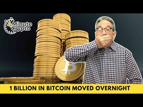 Over 1 Billion in Bitcoin Moved Overnight