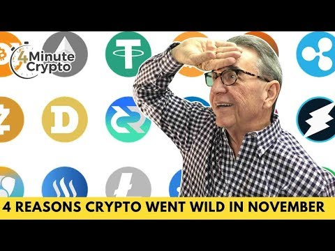 The Top 4 Reasons Crypto Went Wild in November
